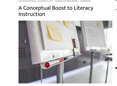 A Conceptual Boost to Literacy Instruction