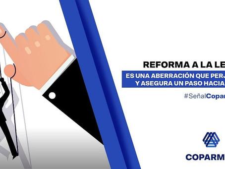 Reforma de la FGR,es una aberración,perjudica a la sociedad y asegura un paso hacia el autoritarismo