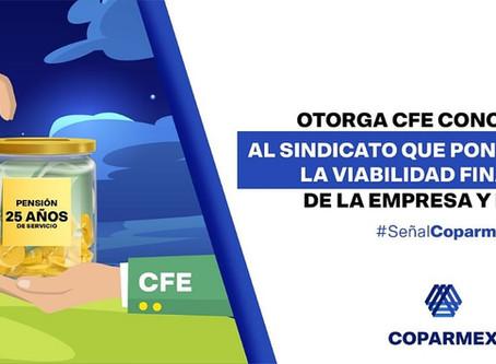 Otorga CFE concesiones al sindicato que ponen en riesgo la viabilidad financiera de la empresa