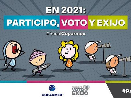 En 2021: Participo, Voto y Exijo