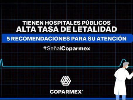 Tienen hospitales públicos alta tasa de letalidad. 5 recomendaciones para su atención
