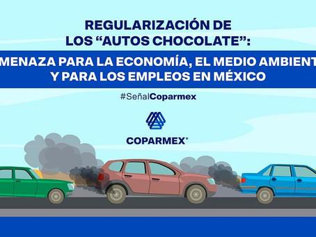 Regularización de los autos chocolate: amenaza para la economía, el medio ambiente y para los empleo
