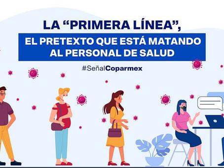 """La """"Primera Línea"""" el Pretexto que está Matando al Personal de Salud"""