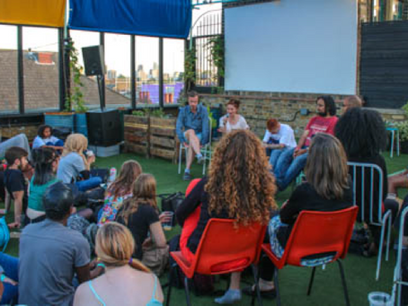 Dalston Roof Garden - short film screening - 29th May