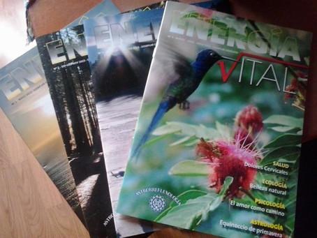 Nuovo numero della rivista 'Energía Vital'