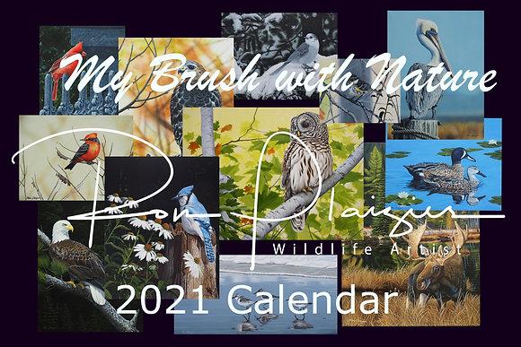 2021 Wildlife Art Calendar