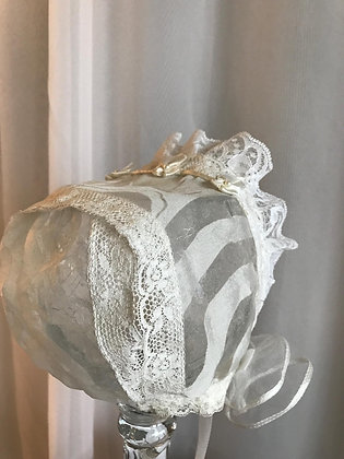 Lace, Silk and Ribbon Tulle Rosettes