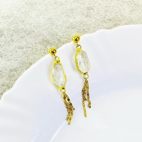 Earrings (Quartz)