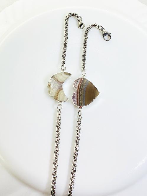 Bracelets Chain (Amethyst Slice)