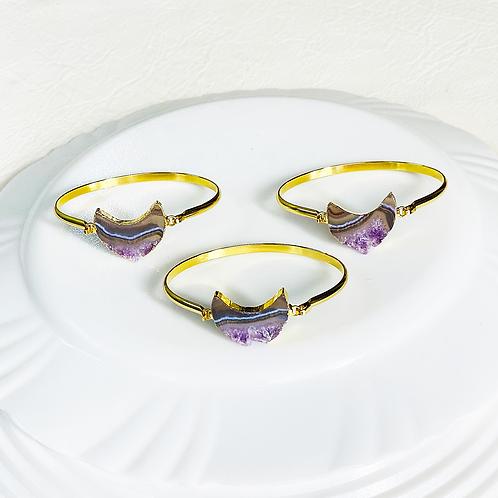 Bracelets (Amethyst Slice)