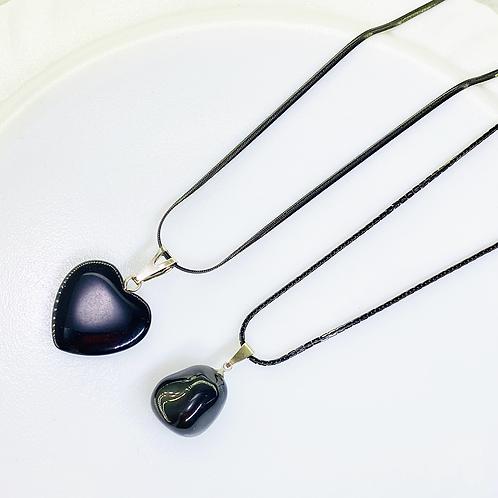 Necklace (Onix)(Chains: 60 cm)
