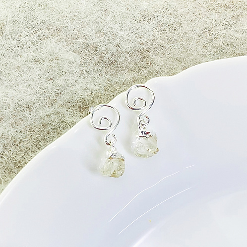 Earrings (Quartz)