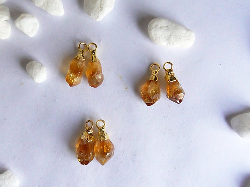 Citrine points pairs