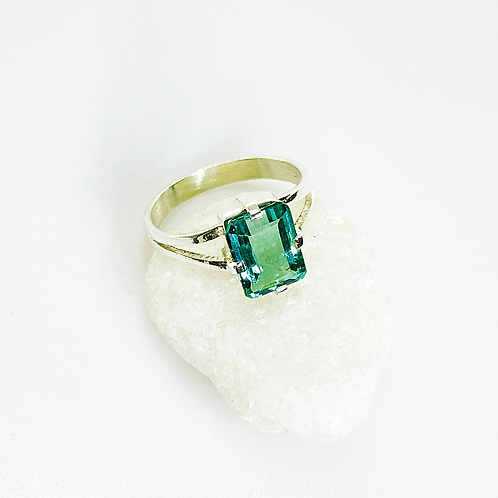 Ring (Green Tourmaline)
