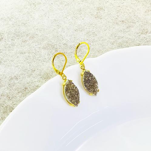 Earrings (Druzy)