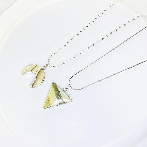 Necklace (Jasper)(Chains: 50 cm)