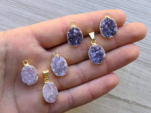 Druzy Set(Rounded Freeform) (15 mm approx)