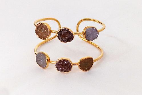 Druzy Bracelet (6 Stones)
