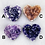 Thumbnail: Amethyst/Druzy Hearts