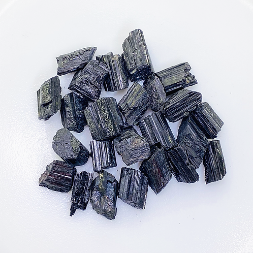 Black Tourmaline Rough (100 grams/0.220 LB) or (1 Kg / 2.20 LB)