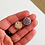 Thumbnail: Druzy (Round shape) (Undrilled) or (Drilled) (15 mm approx)