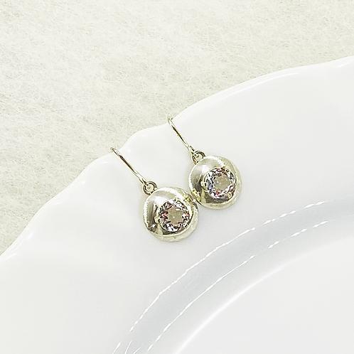 Dangle Earring (Crystal Quartz)
