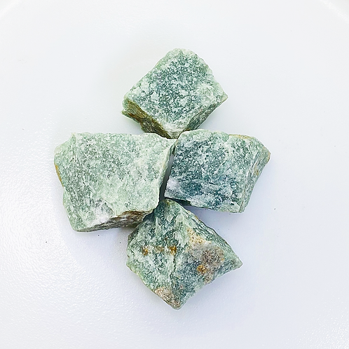 Green Quartz Rough (100 grams/0.220 LB) or (1 Kg / 2.20 LB)