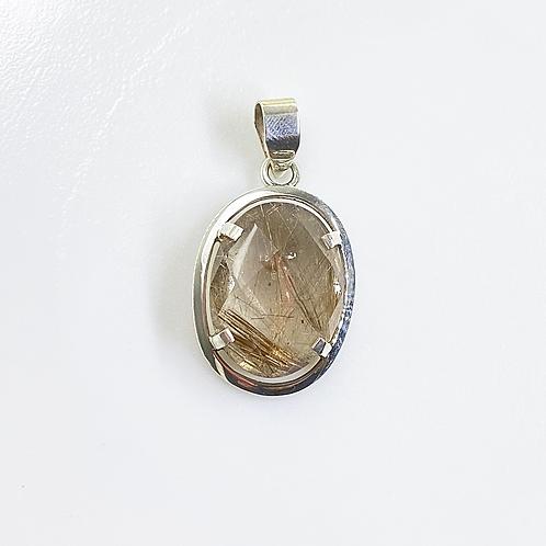 Pendant (Rutilated quartz)