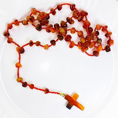 Rosary Beads (Cornelian)