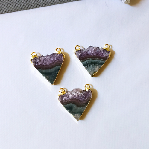 Amethyst Slice Connector (Triangle**)