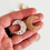 Thumbnail: Druzy (Moon shape) (Undrilled) or (Drilled) (25 mm approx)