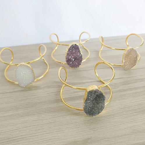 Druzy Bracelet (1 Stone)