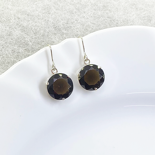 Dangle Earring (Smoky Quartz)