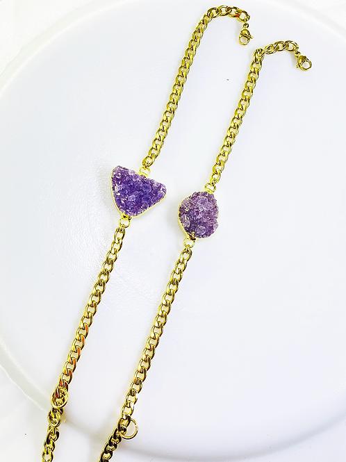 Bracelets Chain (Amethyst)