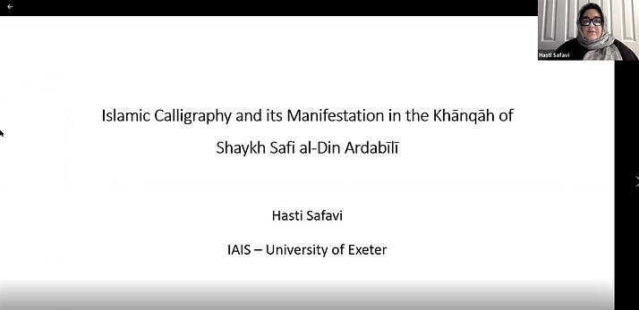 Hasti Safavi's GIAS2020 talk