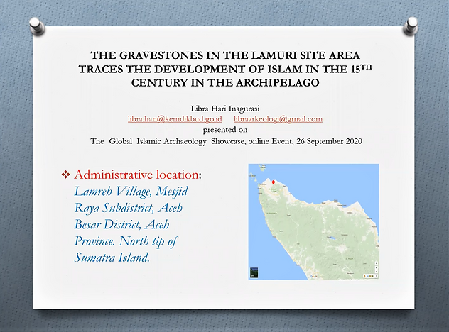 Libra Hari Inagurasi's GIAS2020 talk