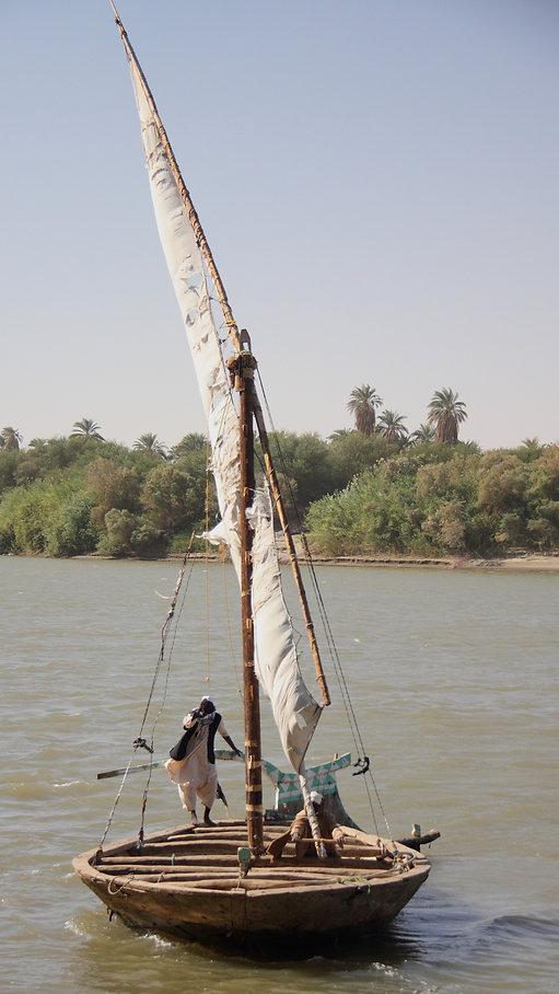 Sudan boat