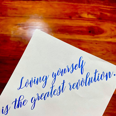 Personalised Hand-lettered Calligraphy & Stationery