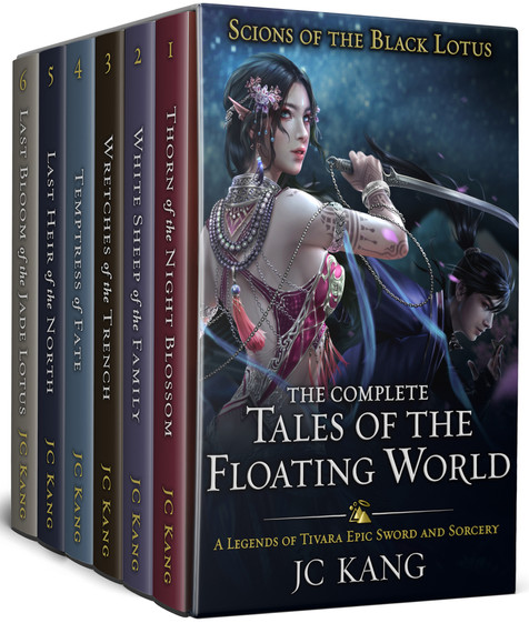 Scions of the Black Lotus: Complete Tales of the Floating World