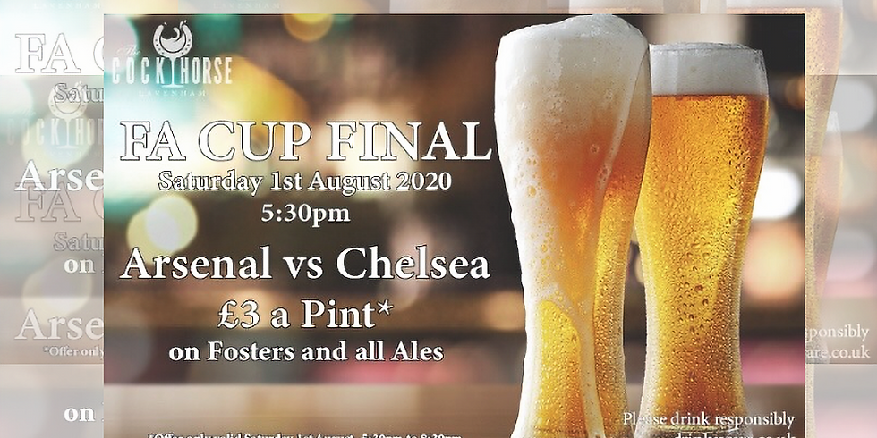 Football - FA Cup Final . Arsenal v Chelsea