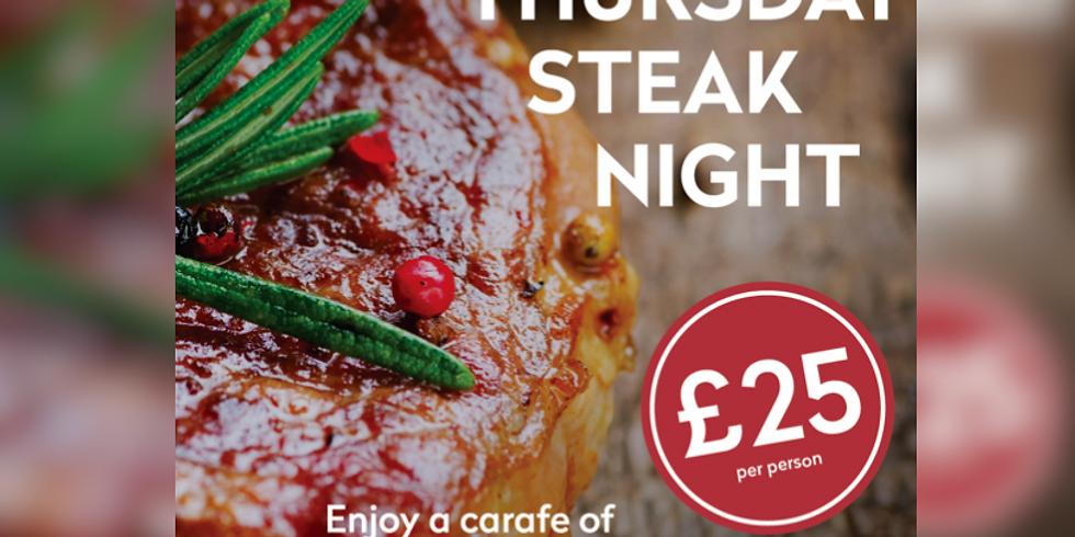 Thurday Steak Night