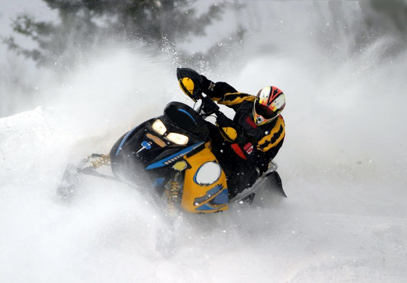 טיול אופנועי שלג