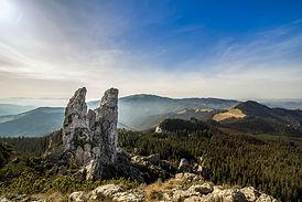 טרק ברכס הקרפטים, רומניה
