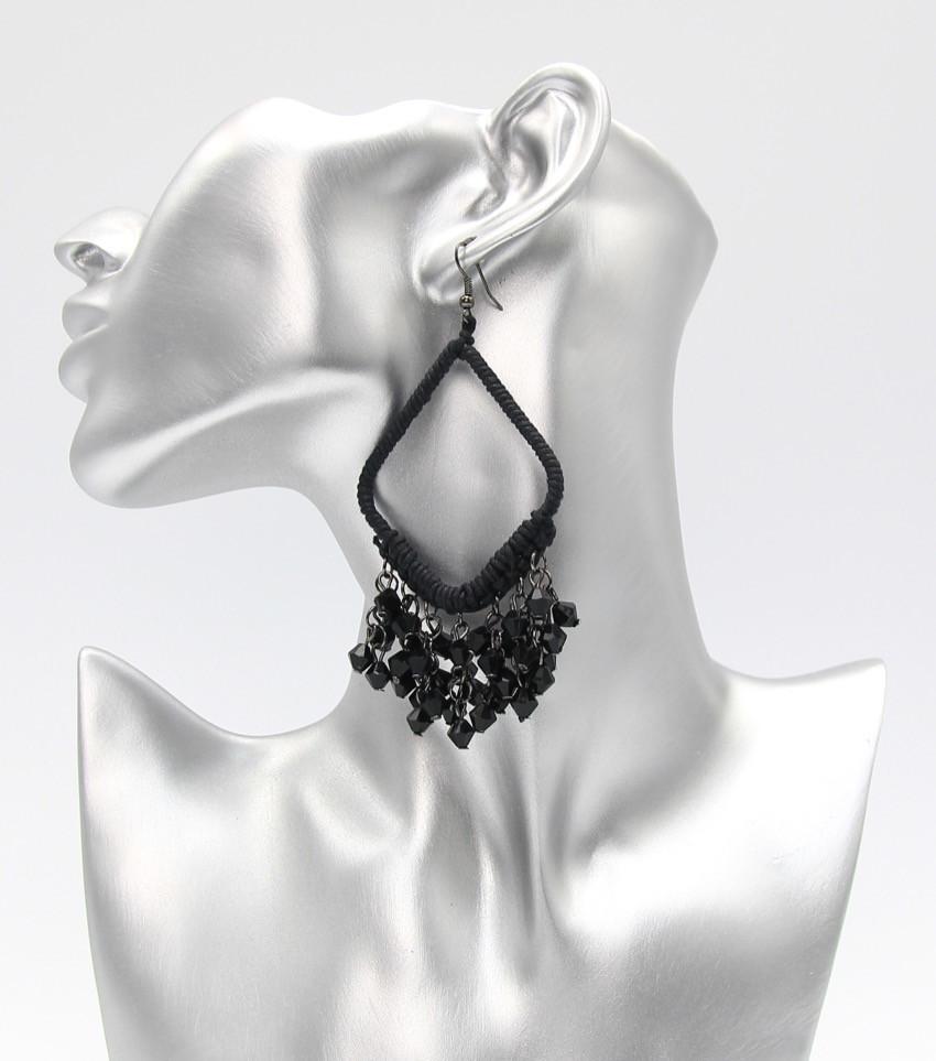 Black Fringe & Beads $11
