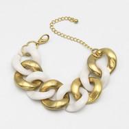 White/Gold Metal $11