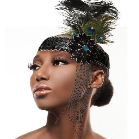 Peacock Headband $15