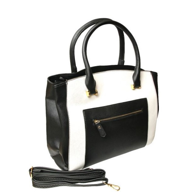 Black and White Leather $30