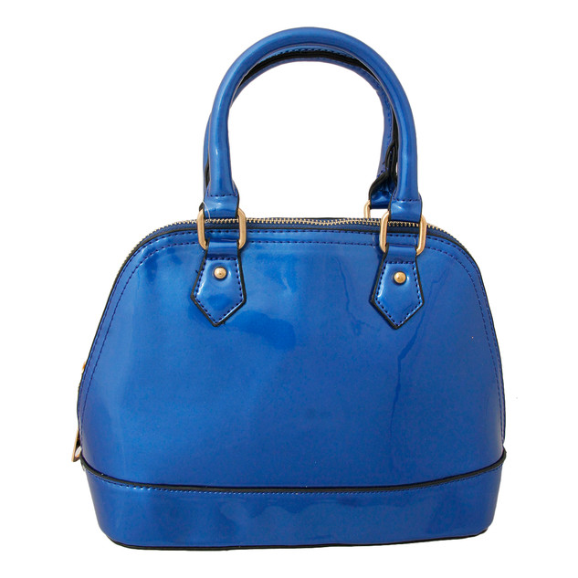 Blue Patent  Leather $35