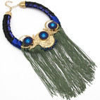Blue Statement Fringe $15