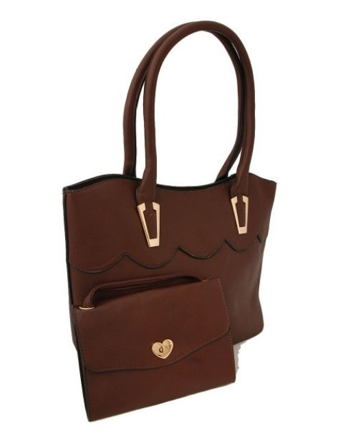 Brown Leather Set $30